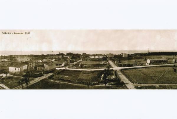 La vecchia Follonica panorama