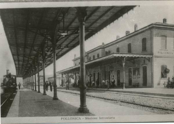 La vecchia Follonica la stazione