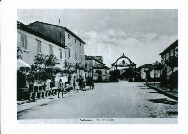 La vecchia Follonica via Amorotti