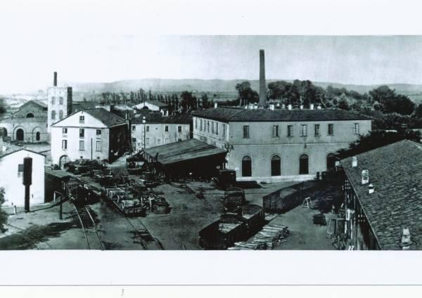 La vecchia Follonica la fonderia