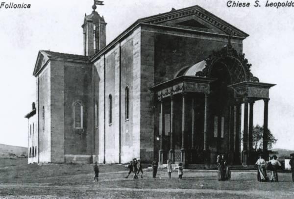 La vecchia Follonica la Chiesa di San Leopoldo