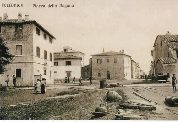 La vecchia Follonica piazza a mare