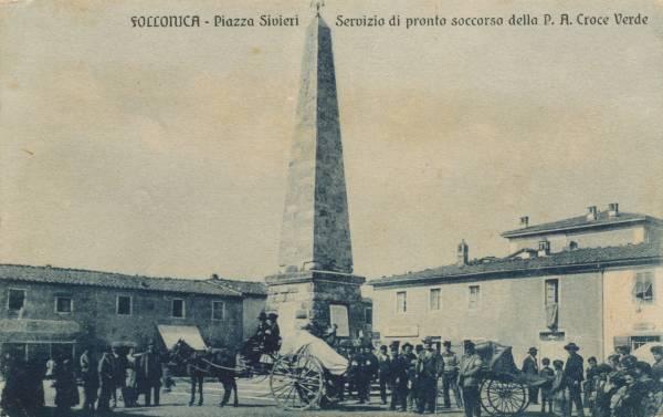 La vecchia Follonica Piazza Sivieri