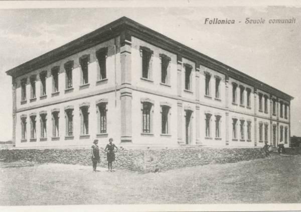 La vecchia Follonica le scuole comunali