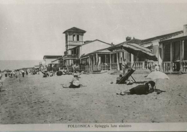 La vecchia Follonica la spiaggia di ponente