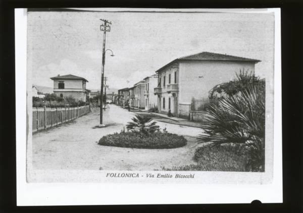 La vecchia Follonica via Bicocchi