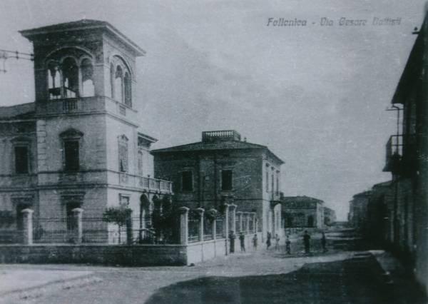 La vecchia Follonica via Battisti