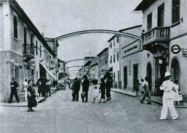 La vecchia Follonica via Roma