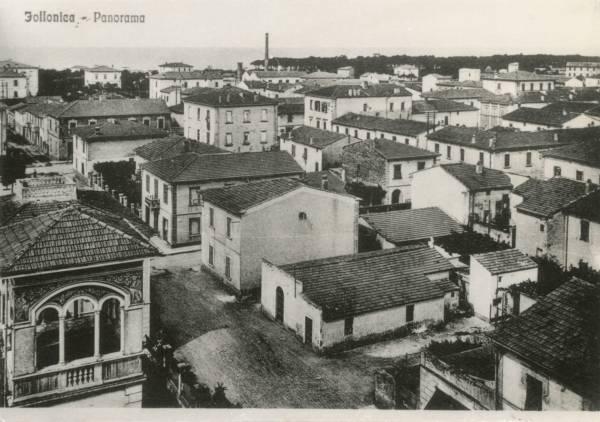 La vecchia Follonica villa Benedetti e via Cesare Battisti